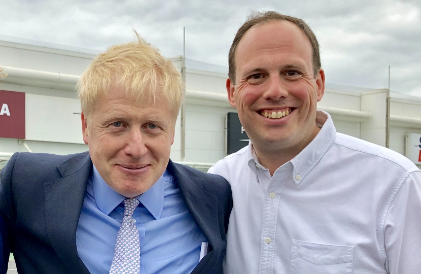 Greg Smith with Boris Johnson